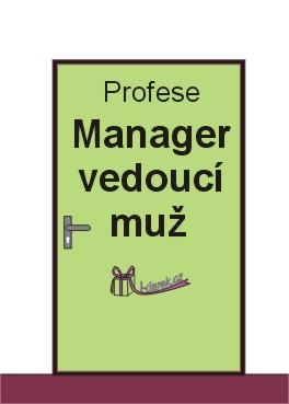 Manager muž