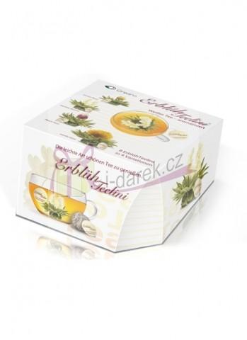 Elegantní dárkové balení - 8 ks bílý kvetoucí čaj Abloom Tealini