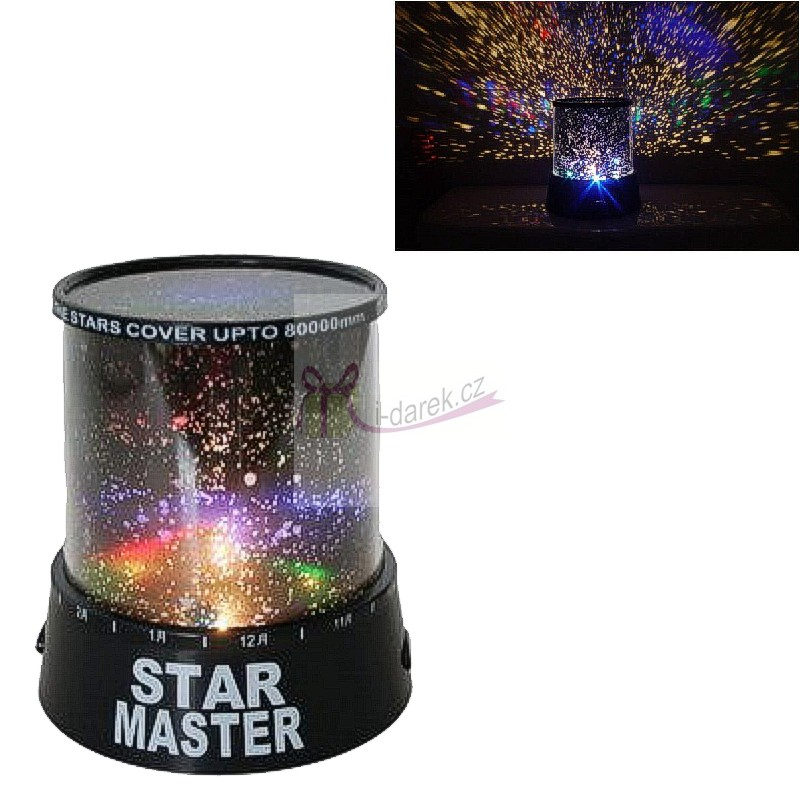 Projektor noční oblohy-hvězdy