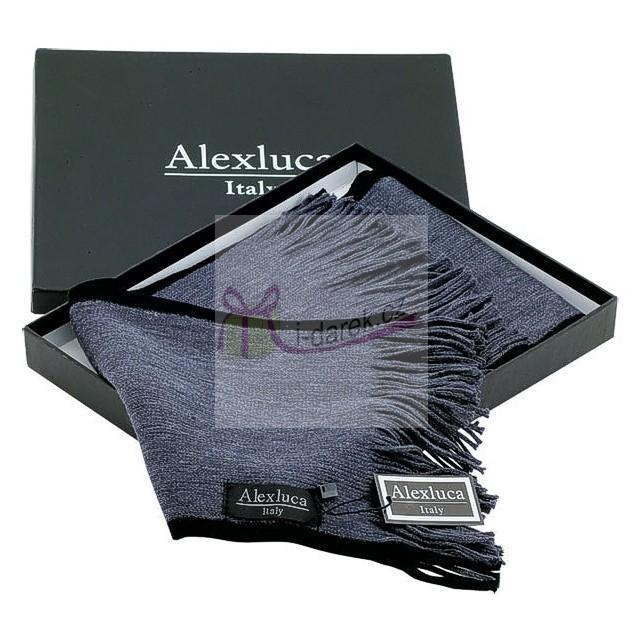 Elegantní pánská šála Alexluca