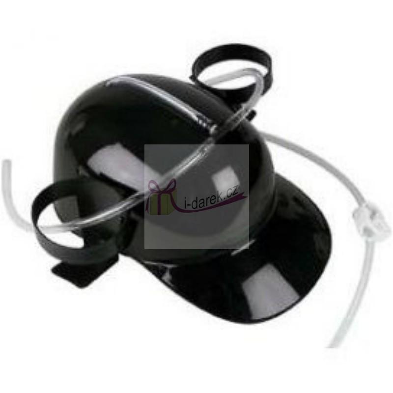 Pivní přilba-helma černá