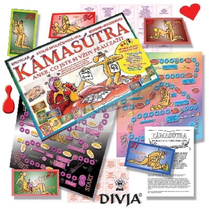 Kámasútra, tajné přání - erotická stolní hra