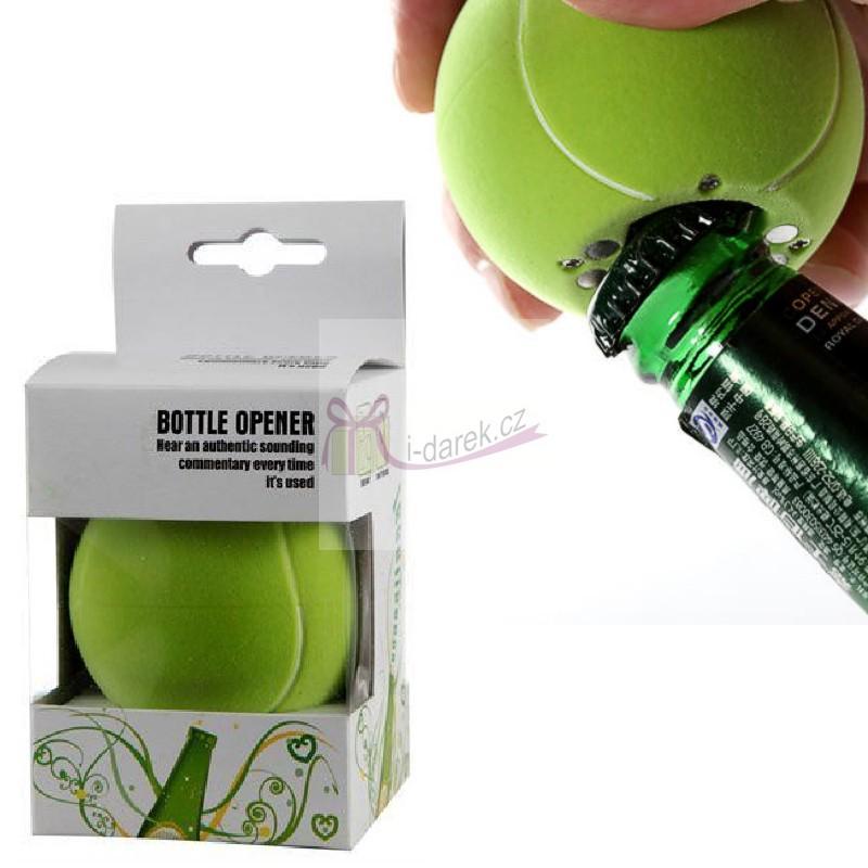 Otvírák s autentickým zvukem - tenisový míček