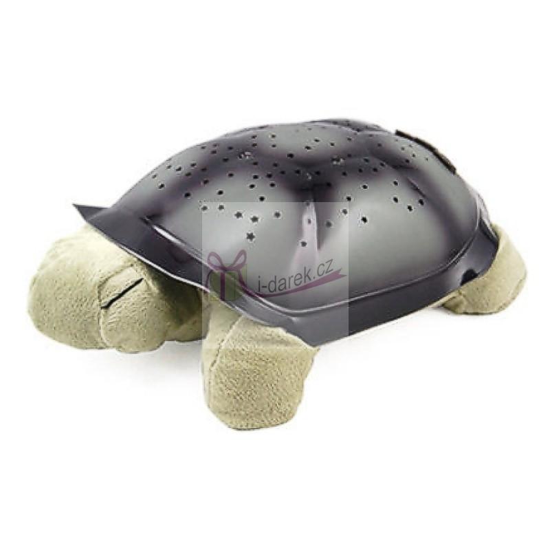 Noční svítící želvička pro klidné usínání - zelená želva