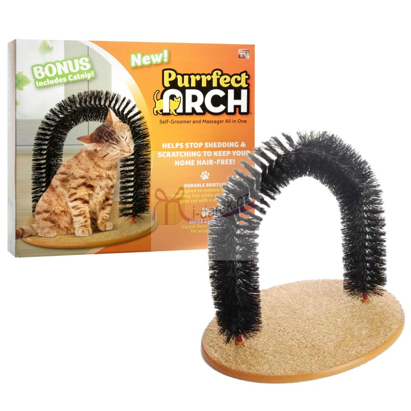 Purrfect Arch pro kočky - domácnost bez chlupů