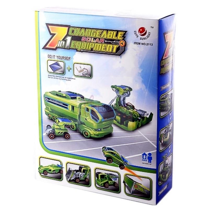 Solární auta 7 v 1