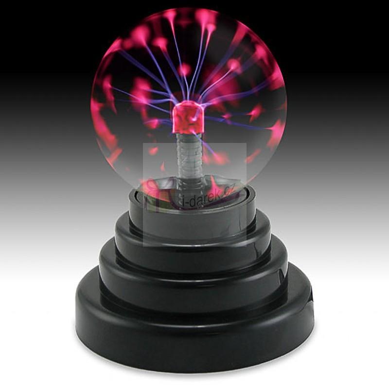 USB plazmová koule - lampička k PC