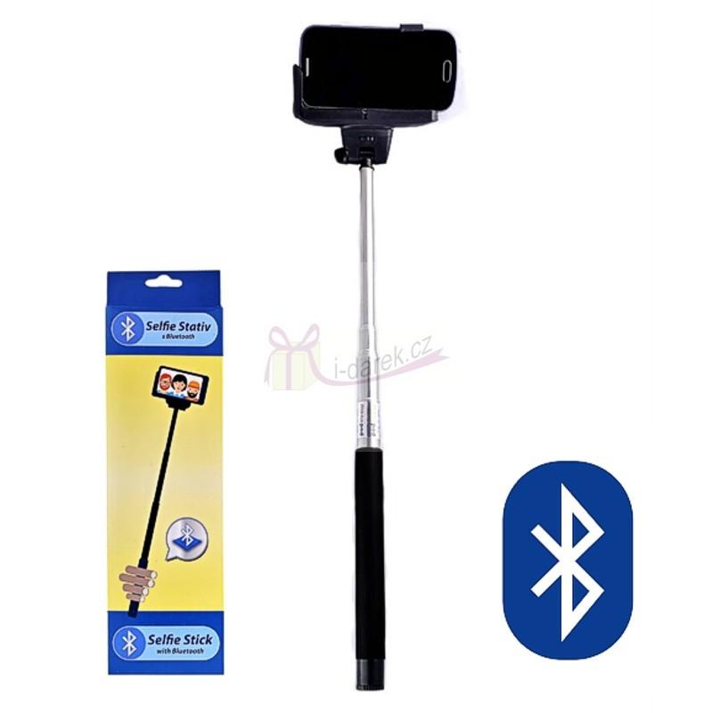 Selfie tyč s Bluetooth ovládáním