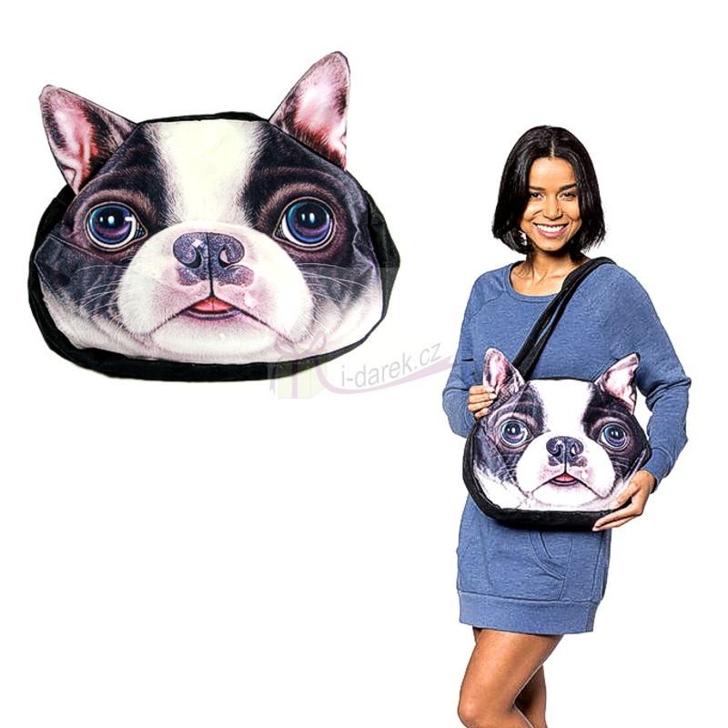 Originální kabelka pes - Franzouzský buldoček