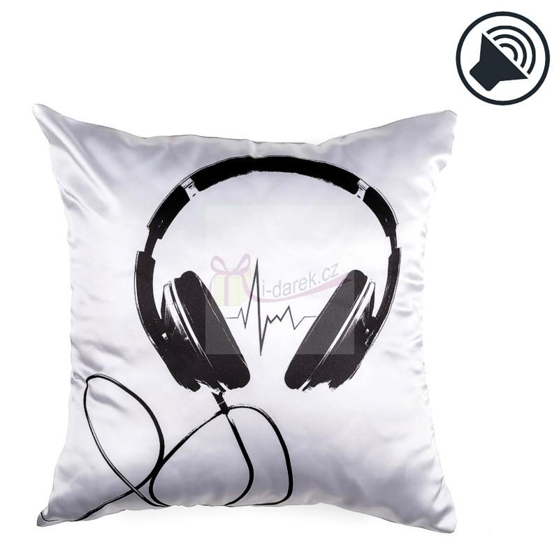 Hudební relaxační polštář - SLUCHÁTKA