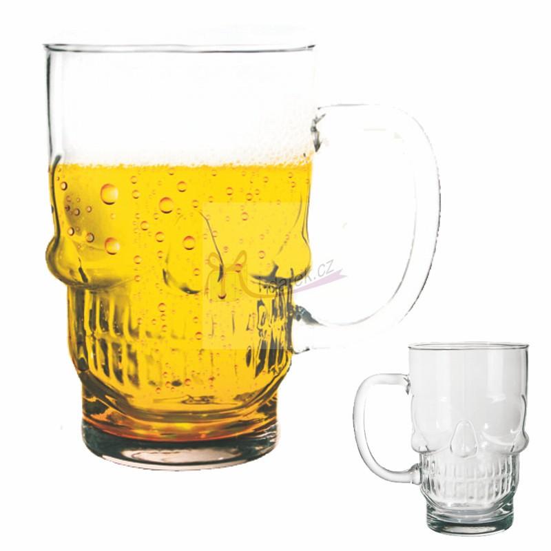 Obří půllitr na pivo - LEBKA