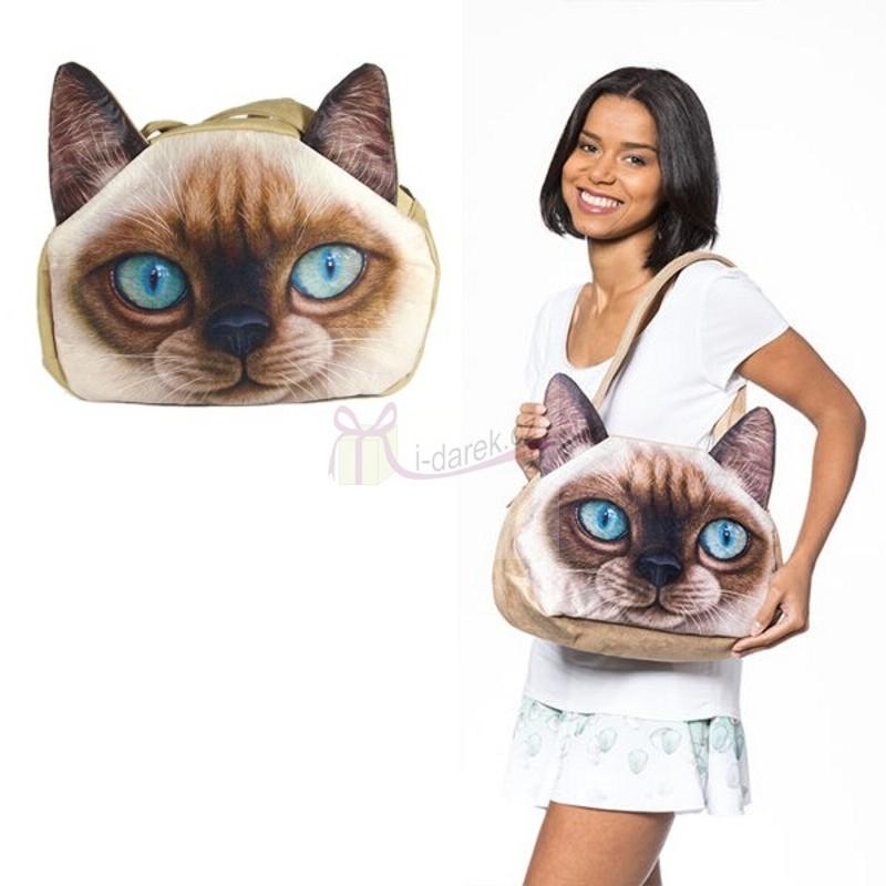 Originální kabelka kočka - Modrooká