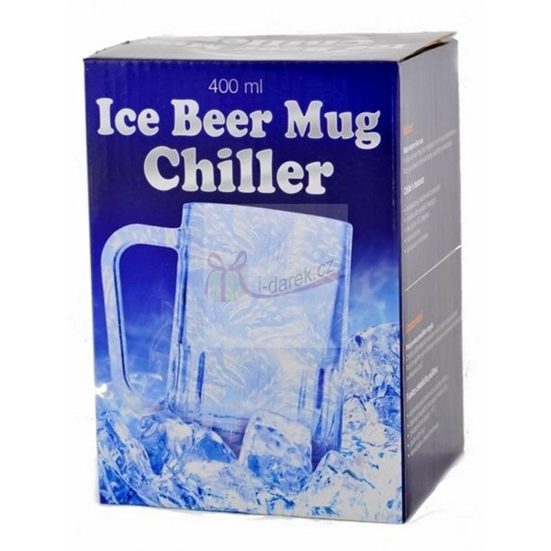 Chladící půllitr na pivo - 400ml