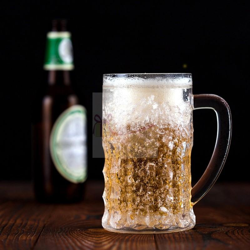 Velký chladící půllitr na pivo - 600ml