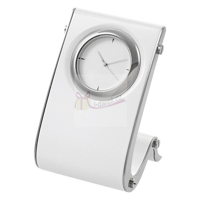 Luxusní elegantní hodiny do kanceláře - bílé