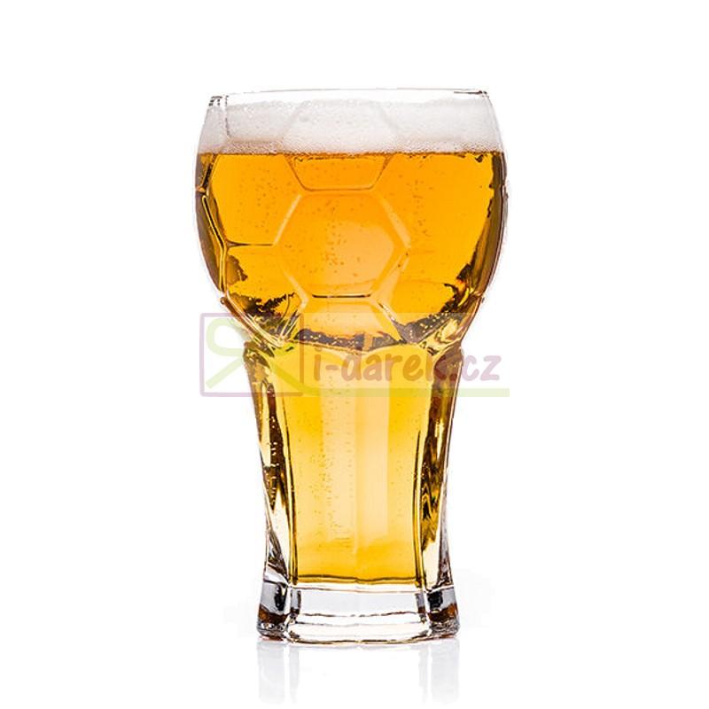 Velký půllitr na pivo pro fotbalistu - Míčový pohár