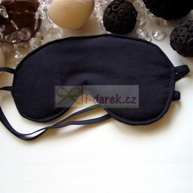 Látková maska na spaní BLACK