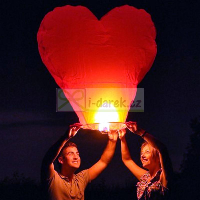 Velké létající přání nejen pro novomanžele