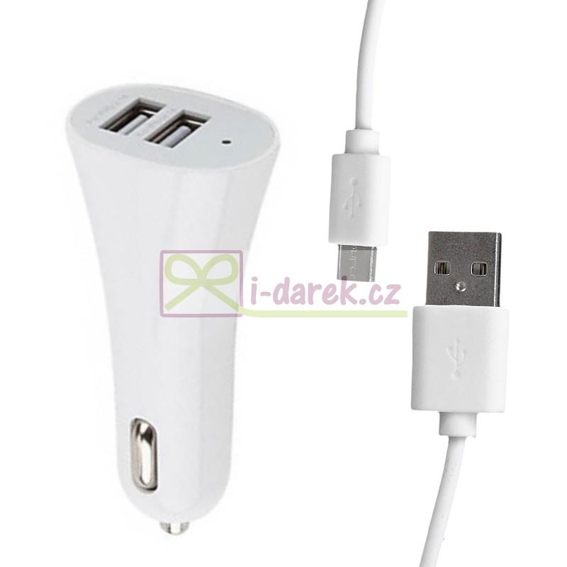 Micro USB nabíječka do auta