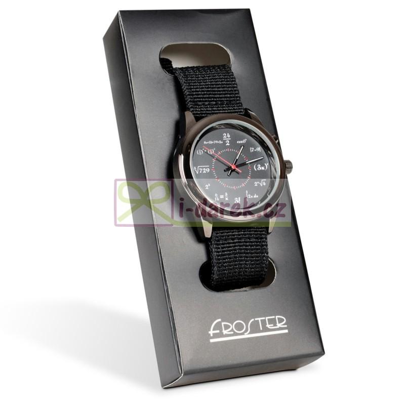 Matematické náramkové hodinky - GÉNIUS