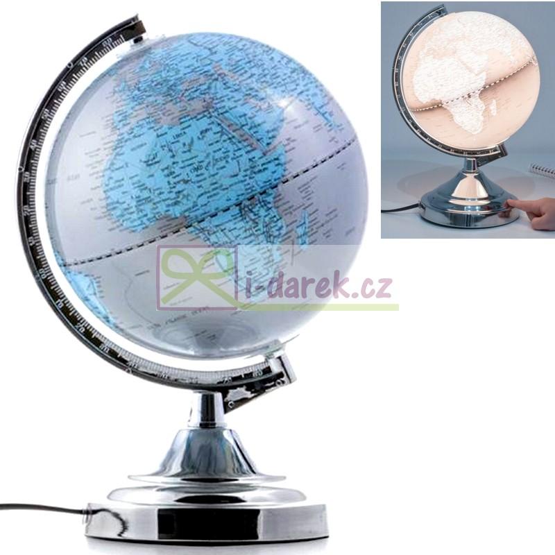 Dotyková lampa - GLOBUS