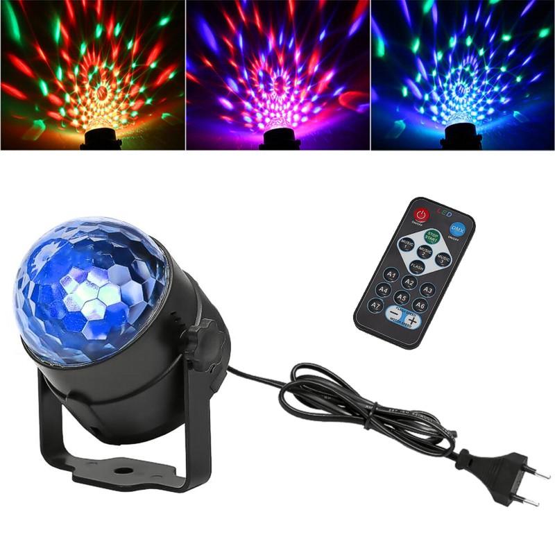 e4627a02ff6b Malé rotující disco LED barevné světlo