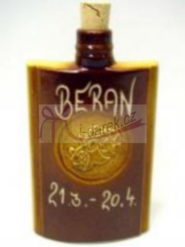 Keramická butylka znamení zvěrokruhu BERAN