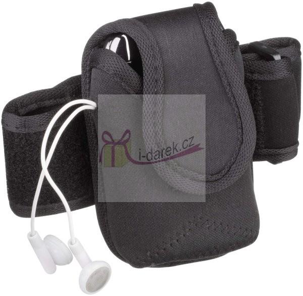Pouzdro pro sportovce na mobil, MP3-černé