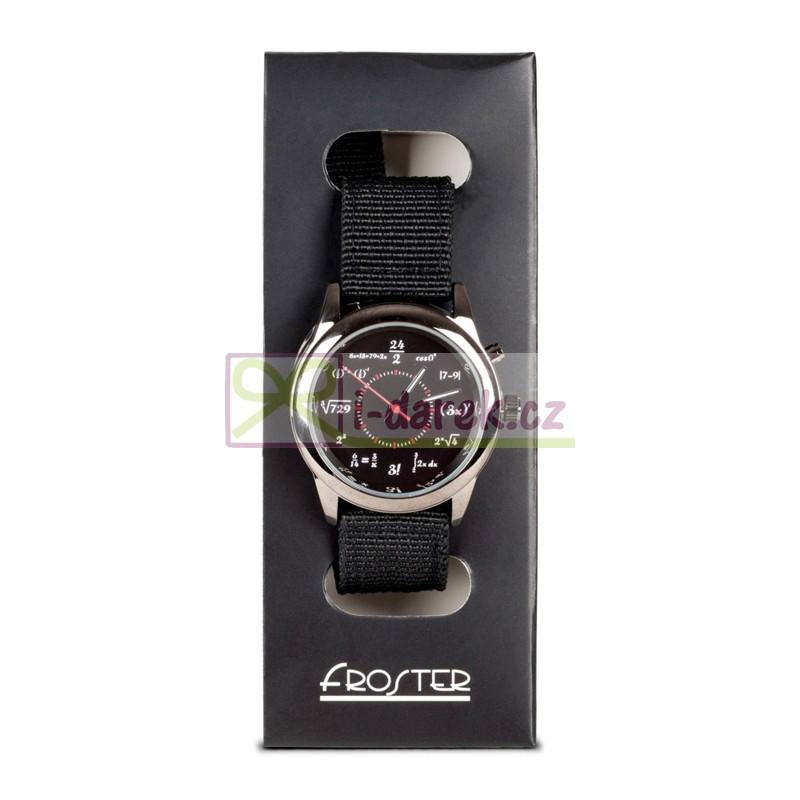 Matematické náramkové hodinky - GÉNIUS  4079fd18164