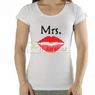 8dfbeabb0dc1 Tričko Mrs. pro ženu - novomanželé